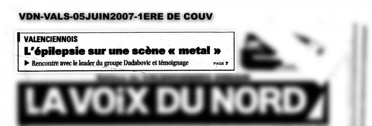 Voix du Nord, Valenciennes, 05/06/07