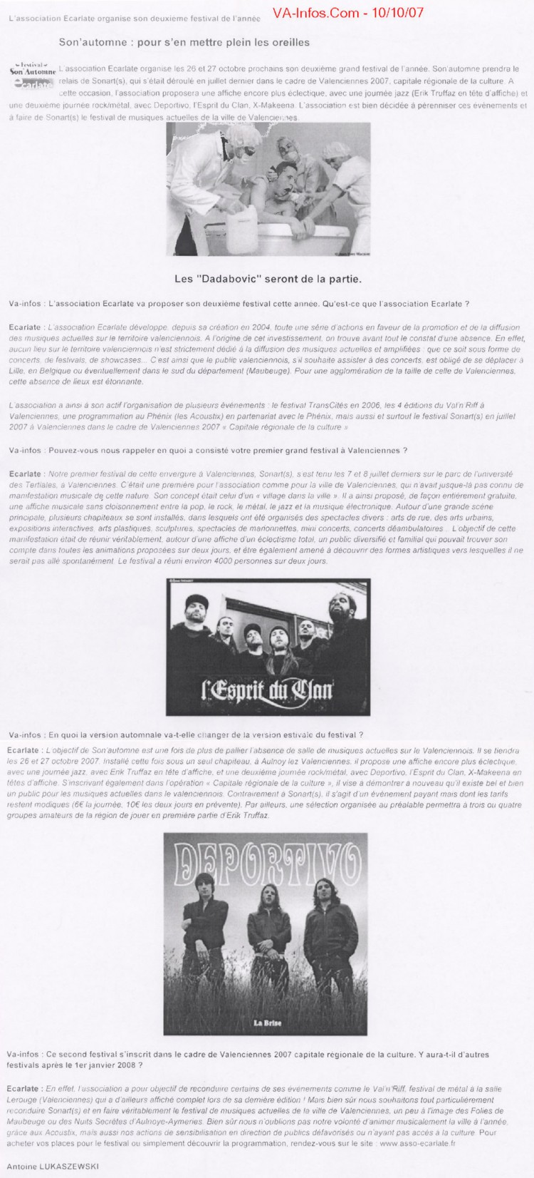 vainfos.com, 10/10/07
