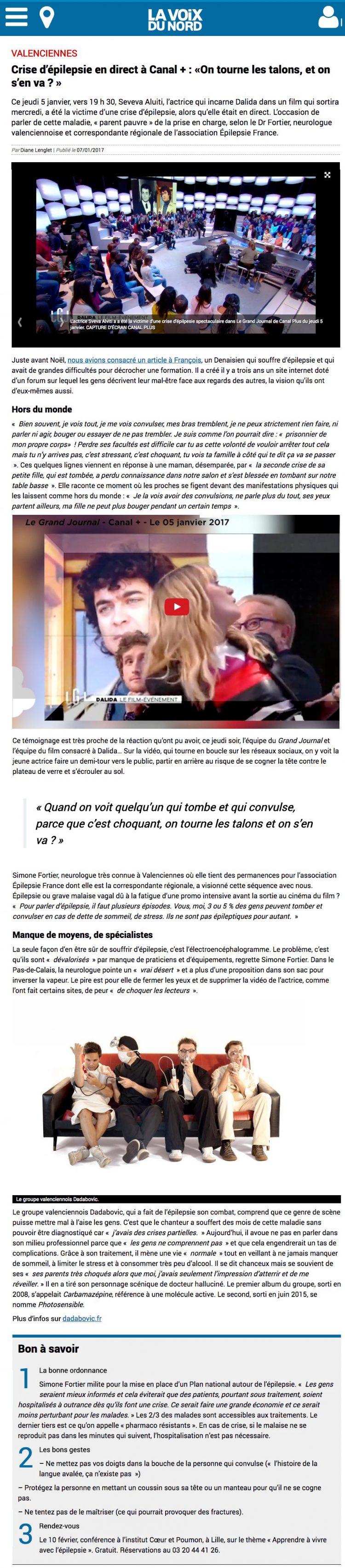07/07/2017 Crise d'épilepsie en direct à Canal +